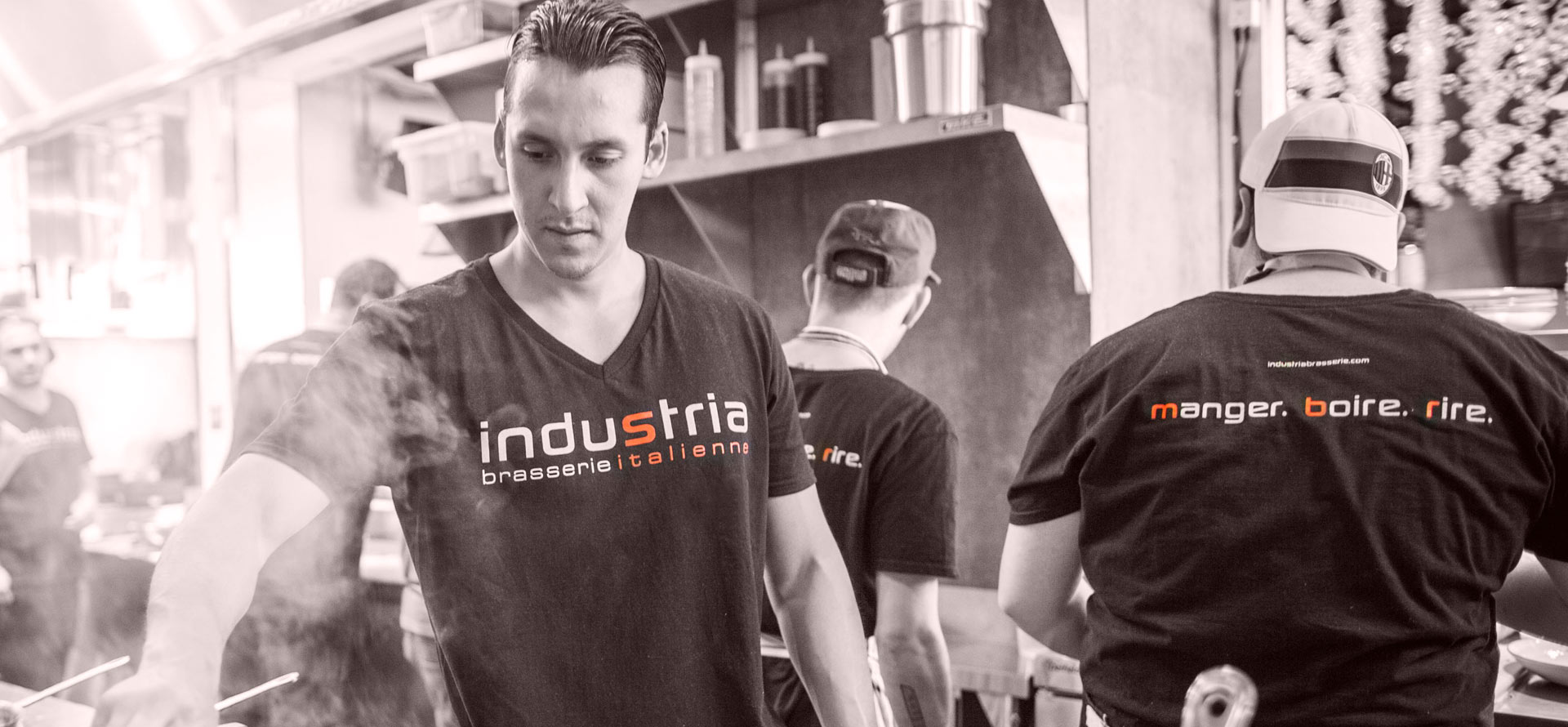 Industria Pizzeria + Bar